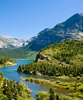 Glacier and Waterton Lakes camping trip photo